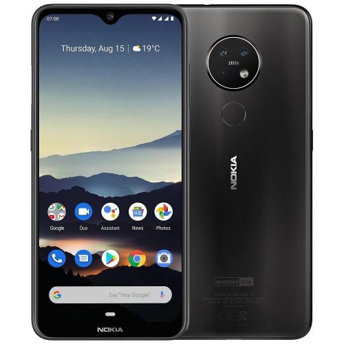 Nokia 7.2 Dual Sim 128GB Charcoal EU