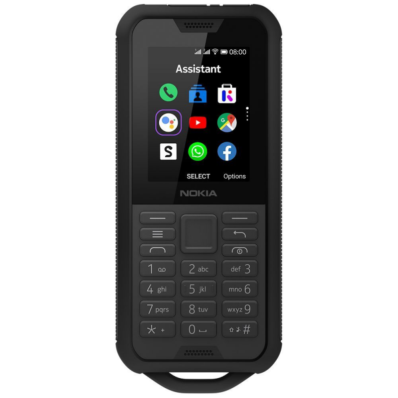 Nokia 800 Tough Outdoor Dual Sim - Black EU