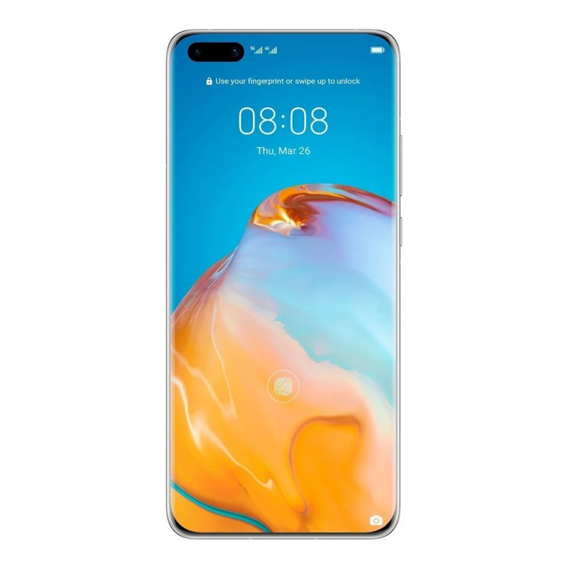 Huawei P40 Pro 5G Dual Sim 8GB RAM 256GB - White EU