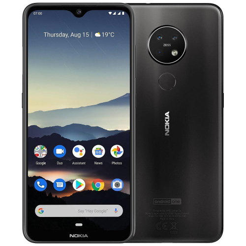 Nokia 7.2 Dual Sim 4GB RAM 64GB - Charcoal EU