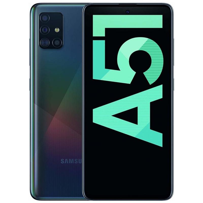 Samsung Galaxy A51 A515 Dual Sim 4GB RAM 128GB - Black EU