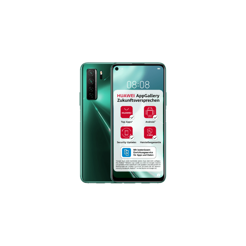 Huawei P40 Lite 5G Dual Sim 6GB RAM 128GB - Green EU