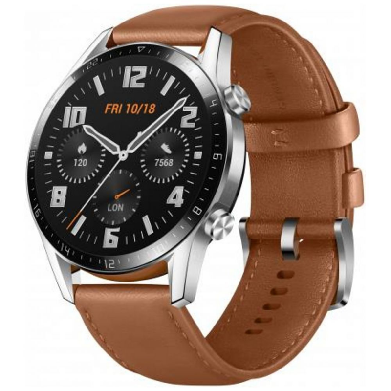 Watch Huawei Watch GT 2 Classic 46mm - Leather Brown EU