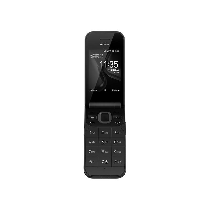 Nokia 2720 Flip Dual Sim 4GB - Black EU