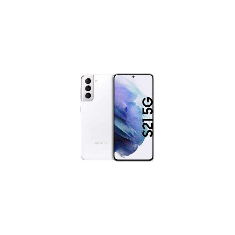 Samsung Galaxy S21 G991 5G Dual Sim 8GB RAM 256GB - White EU