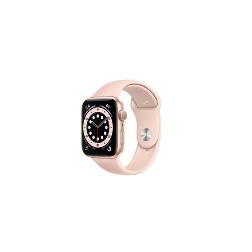 Watch Apple Watch Series 6 GPS 44mm Gold Aluminium Case with Sport Band - Pink EU