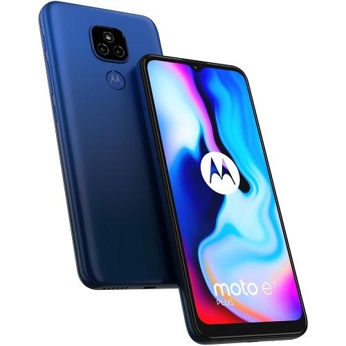 Motorola XT2081-1 Moto E7 Plus Dual Sim 4GB RAM 64GB - Blue EU