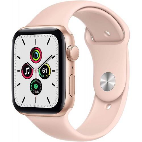Watch Apple Watch SE GPS 44mm Gold Aluminum Case with Sport Band - Pink Sand EU