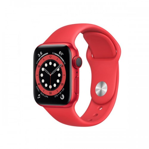 Watch Apple Watch Series 6 GPS+Cellular 44mm Red Aluminium Case with Sport Band - Red EU